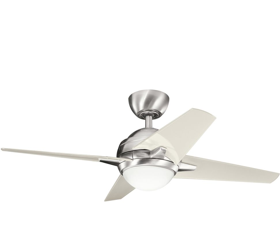 Kichler 300147bss Brushed Stainless Steel W Clear