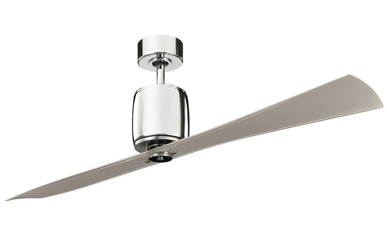 "Kichler 300160PN 60"" Indoor Ceiling Fan with Blades Downrod and"