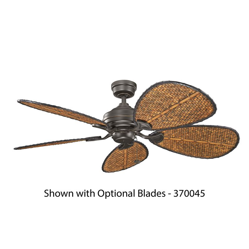 "Kichler 300199 12"" Indoor Ceiling Fan - Blades Not Included Olde"