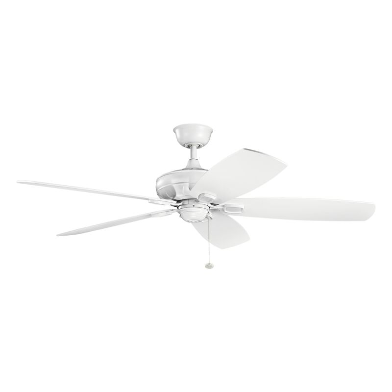 "Kichler 300269 60"" Indoor Ceiling Fan with Blades Downrod and Pull"