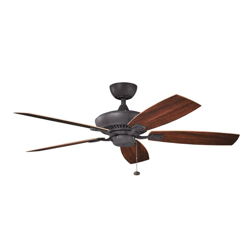 Kichler 310192dbk distressed black canfield patio 52 Outdoor ceiling fan sale
