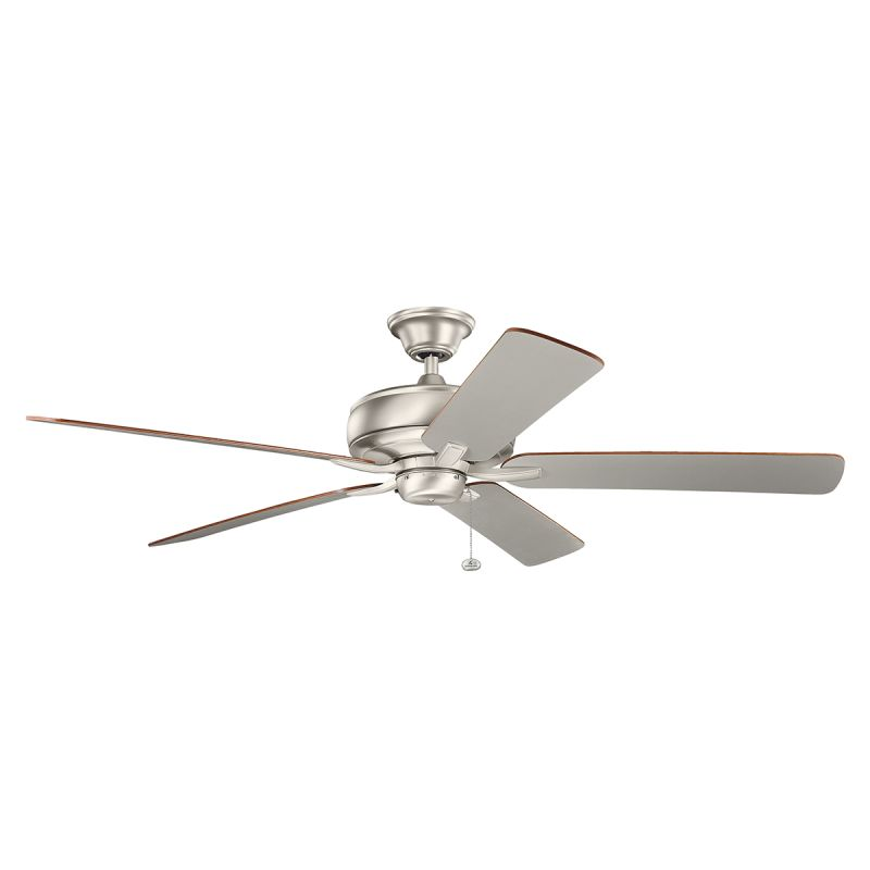 "Kichler 330249 60"" Indoor Ceiling Fan with Blades Downrod and Pull"