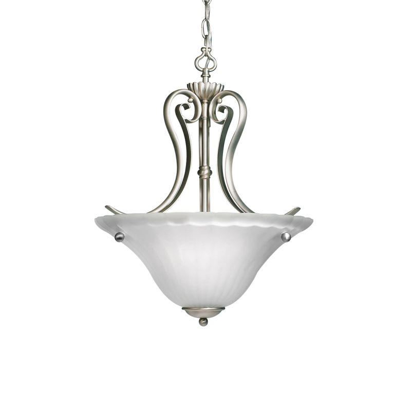 Kichler 3325 Willowmore 2-Bulb Indoor Pendant with Bowl-Shaped Glass Sale $148.00 ITEM: bci843240 ID#:3325NI UPC: 783927246088 :