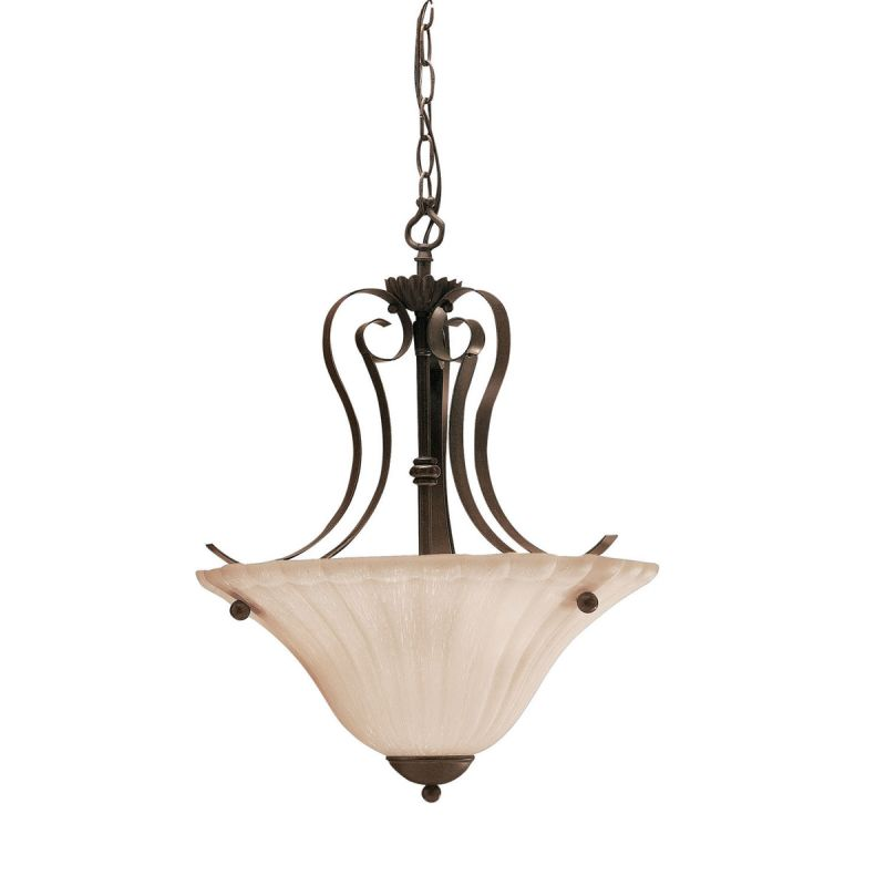 Kichler 3325 Willowmore 2-Bulb Indoor Pendant with Bowl-Shaped Glass Sale $148.00 ITEM: bci843241 ID#:3325TZ UPC: 783927198141 :