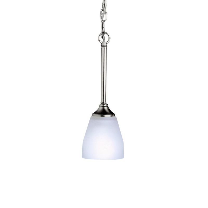Kichler 3345 Ansonia Single-Bulb Indoor Pendant with Cone-Shaped Glass Sale $50.00 ITEM: bci843253 ID#:3345NI UPC: 783927172660 :