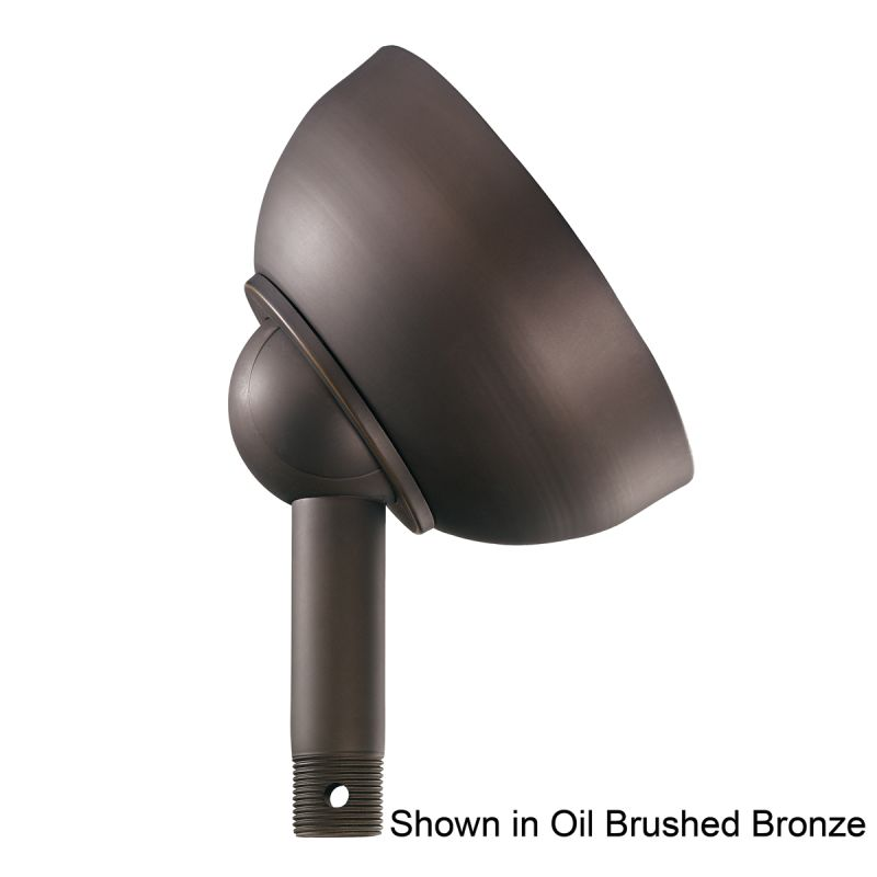 """Kichler 337005 Basics 6"""" Diameter Sloped Ceiling Adapter Carre Bronze"""