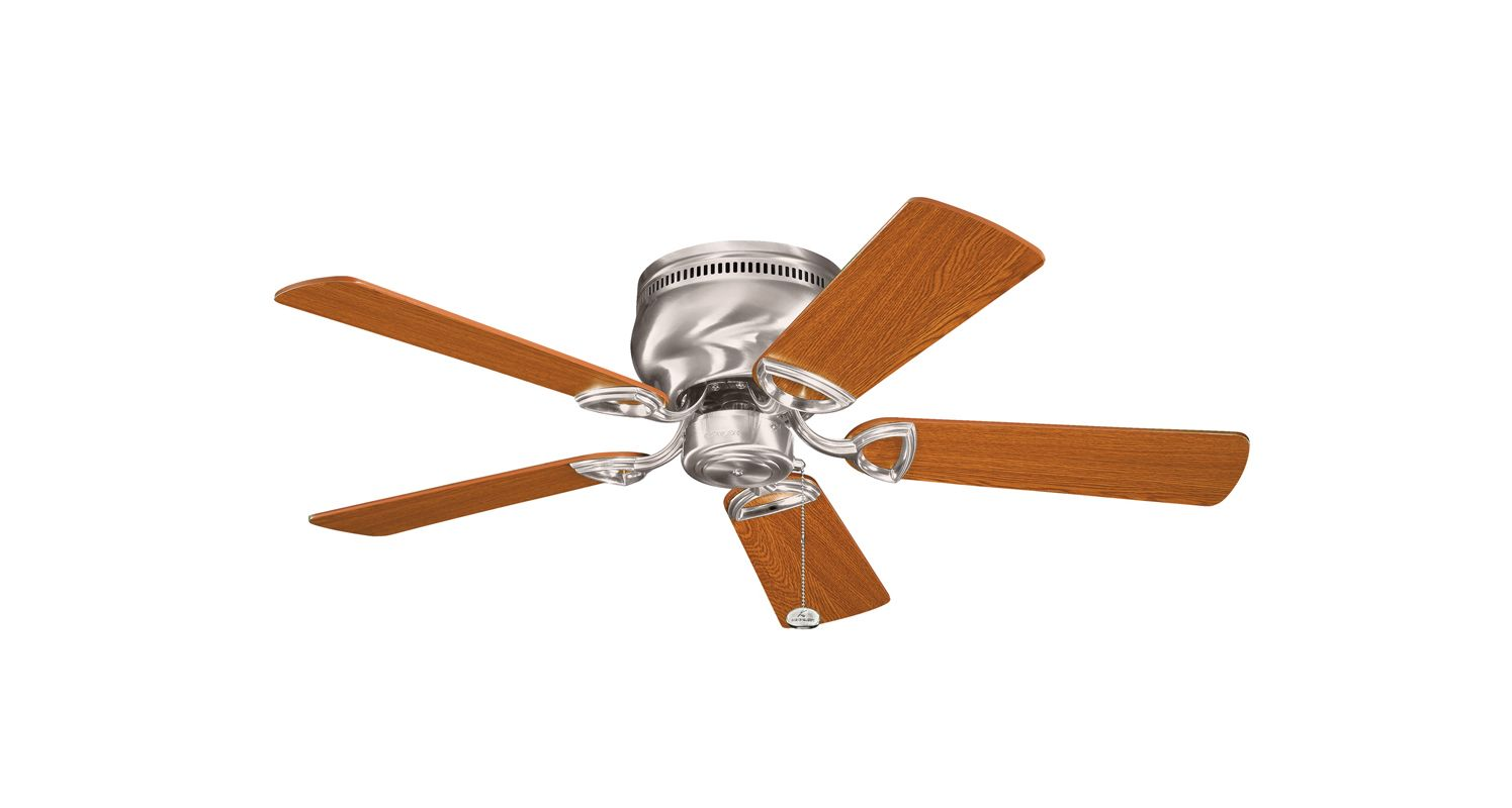 """Kichler 339017 42"""" Indoor Ceiling Fan with Blades and Pull Chain"""