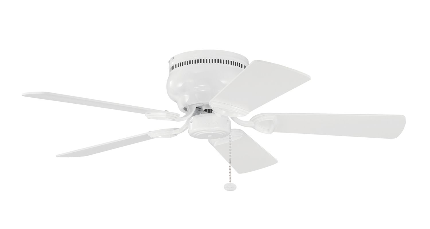 """Kichler 339017 42"""" Indoor Ceiling Fan with Blades and Pull Chain White"""