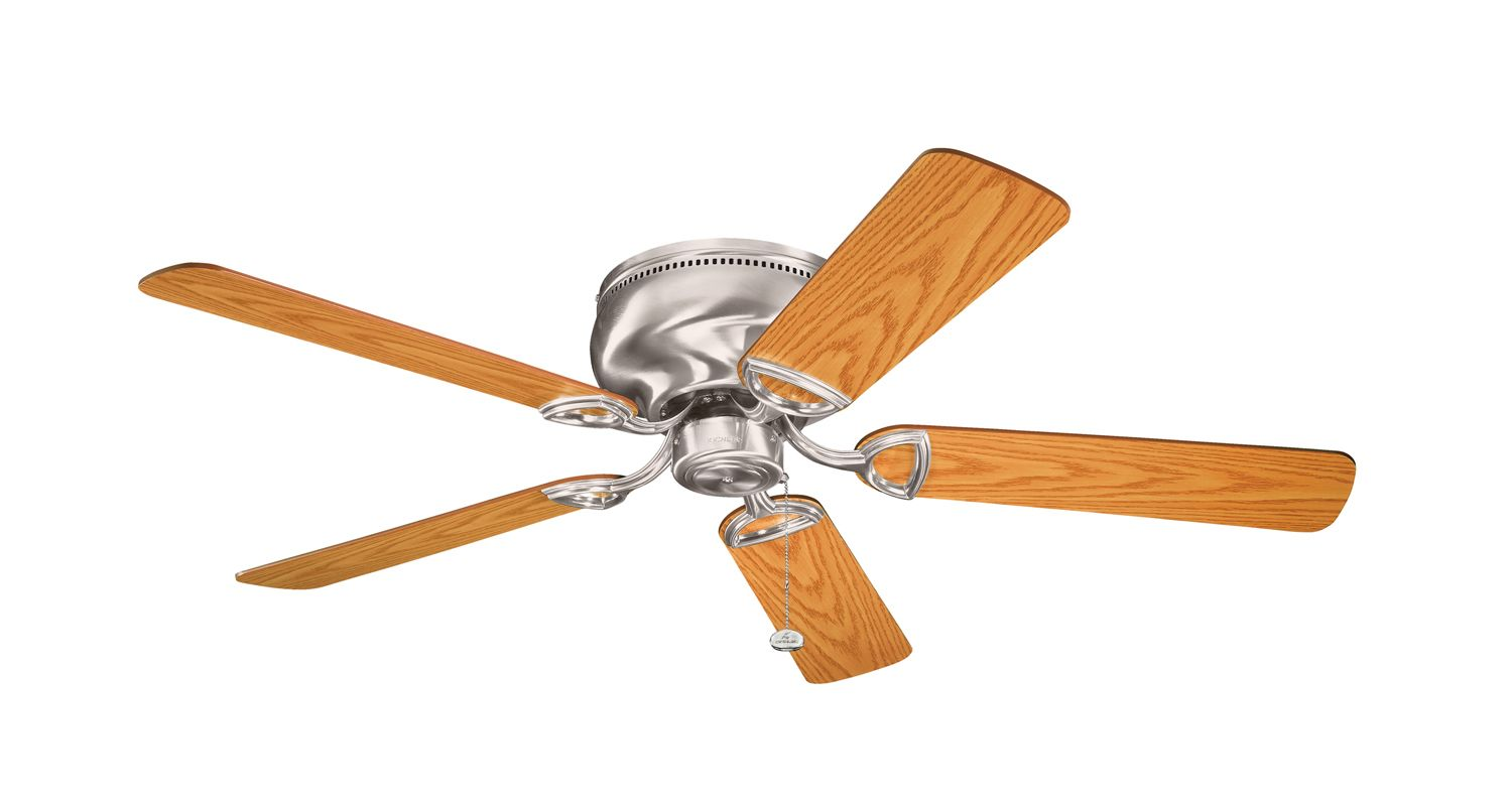 """Kichler 339022 52"""" Indoor Ceiling Fan with Blades and Pull Chain"""