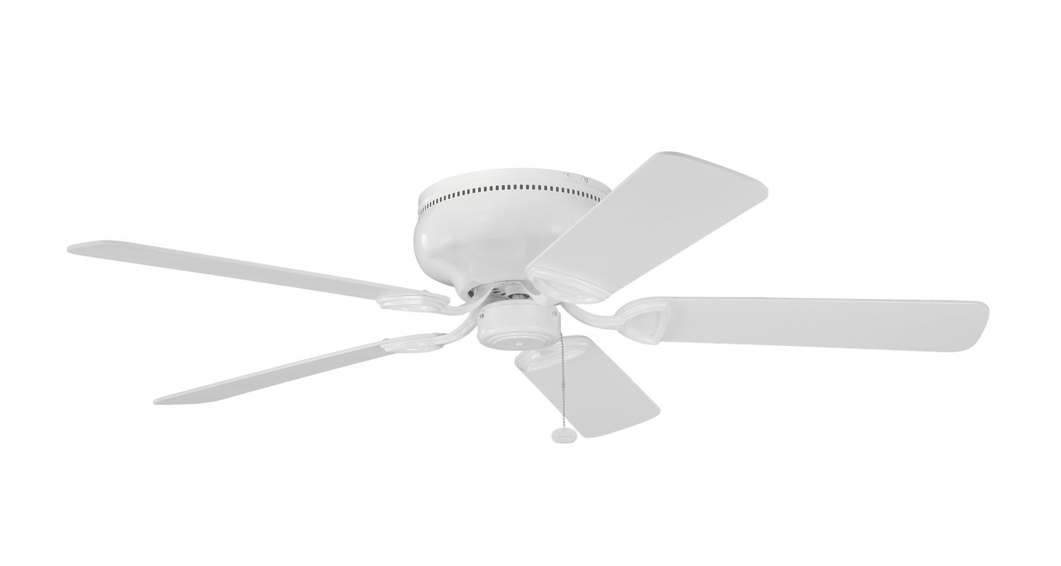 """Kichler 339022 52"""" Indoor Ceiling Fan with Blades and Pull Chain White"""
