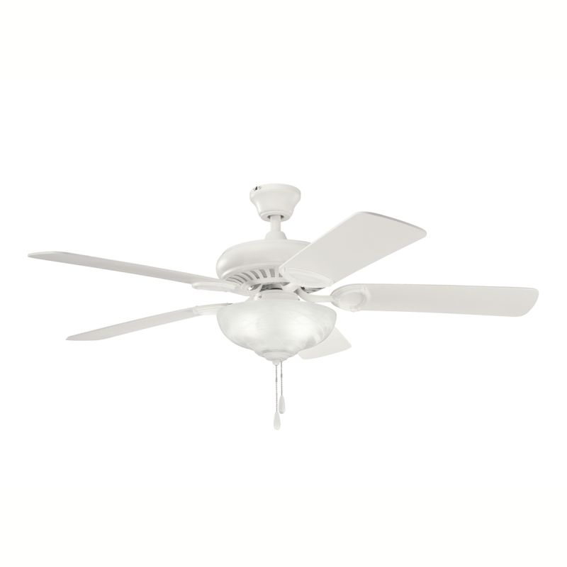 """Kichler 339211 52"""" Indoor Ceiling Fan with Blades Downrod and Pull"""