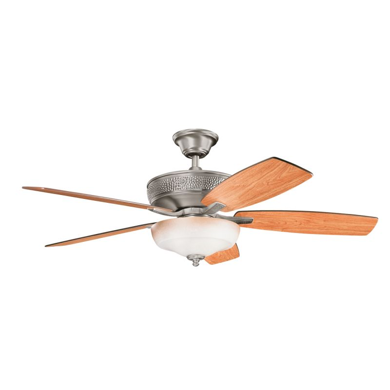 "Kichler 339213 52"" Indoor Ceiling Fan with Blades Light Kit Downrod"