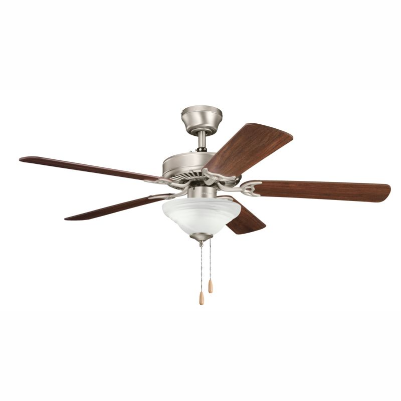 "339220NI7 Brushed Nickel Sterling Manor Select 52"" Indoor Ceiling Fan ..."