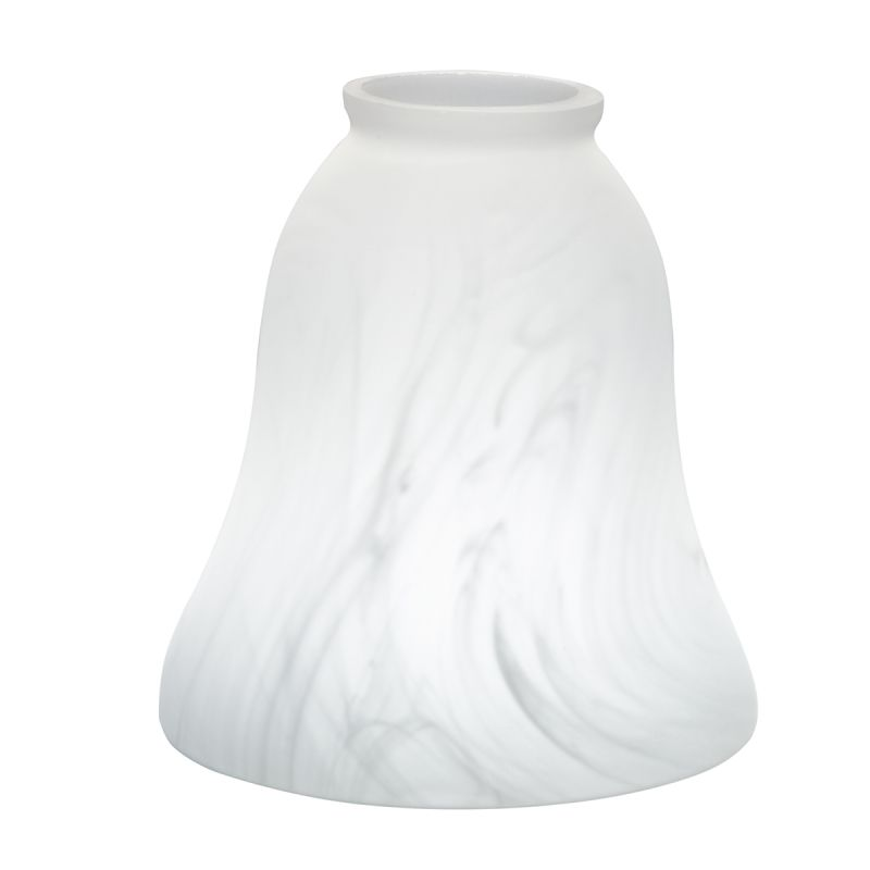 "Kichler 340121 2.25"" Fitter Universal White Alabaster Replacement"