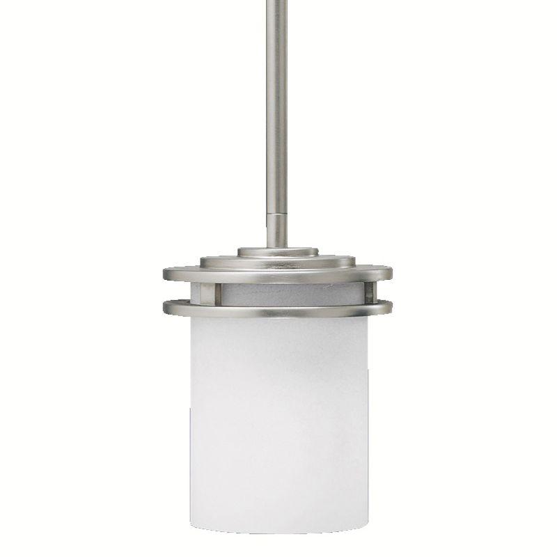 Kichler 1 Light Mini Pendant in Brushed Nickel 3475NI Modern