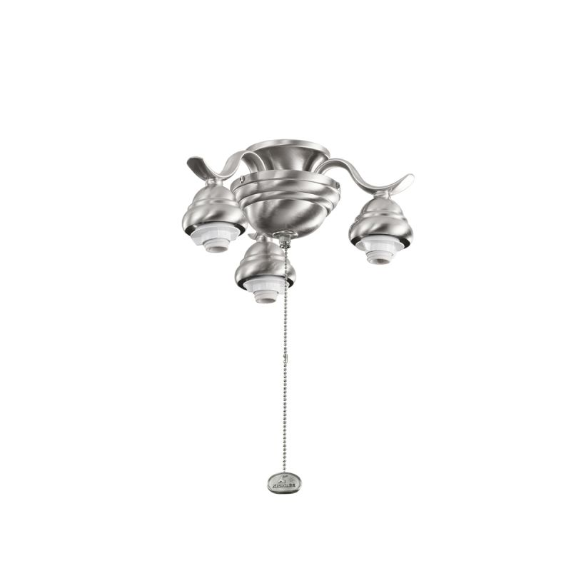 Kichler 350101 3 Light Decorative Fitter Brushed Stainless Steel Fan Sale $22.00 ITEM: bci1872389 ID#:350101BSS UPC: 783927367004 :