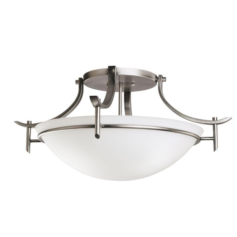 Kichler 3606 Olympia 3 Light Semi-Flush Indoor Ceiling Fixture Antique