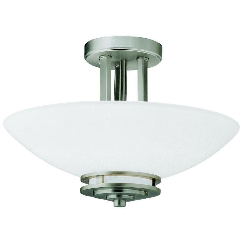 "Kichler 3674 Hendrik 2 Light 15"" Wide Semi-Flush Ceiling Fixture with"
