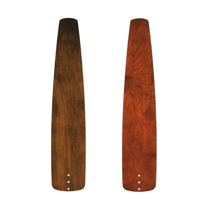 Kichler 371027 Custom Distressed Walnut / Cherry Solid Wood Blades - 5