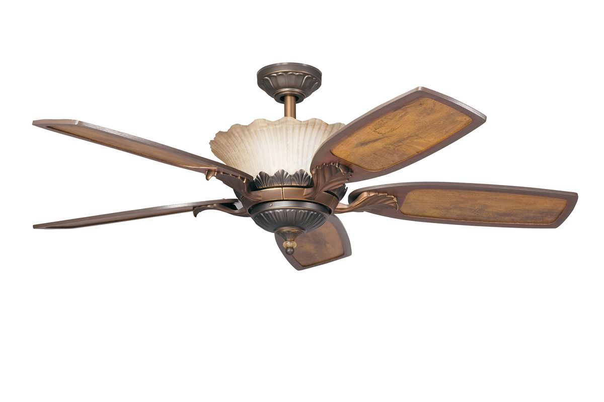 Kichler 300000 52&quote Indoor Ceiling Fan with Blades Downrod and Remote