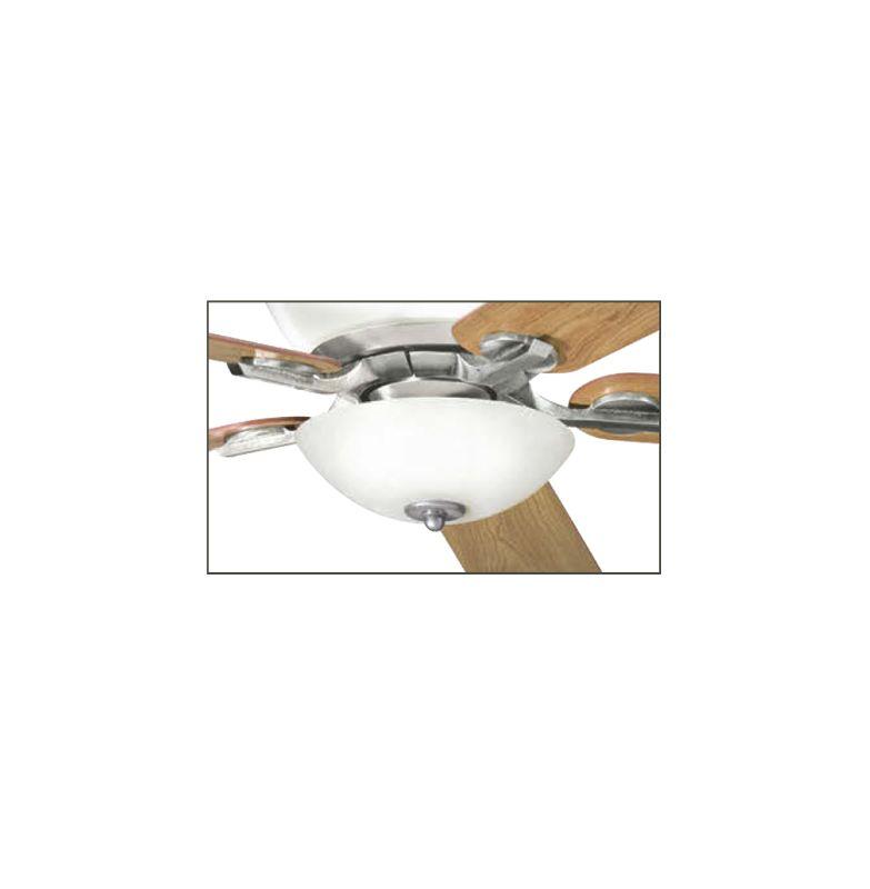 Kichler 380000 Olympia 3 Light Bowl Fan Light Kit Antique Pewter Fan