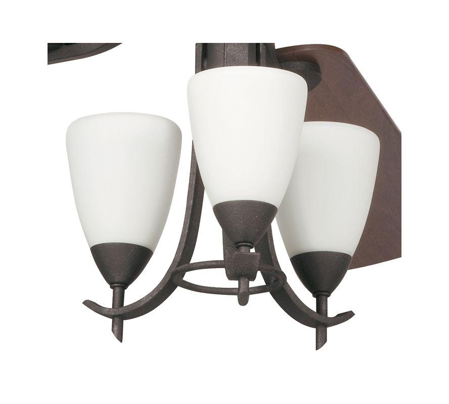 Kichler 380001 Olympia 3 Light Pendalette Fan Light Kit Distressed