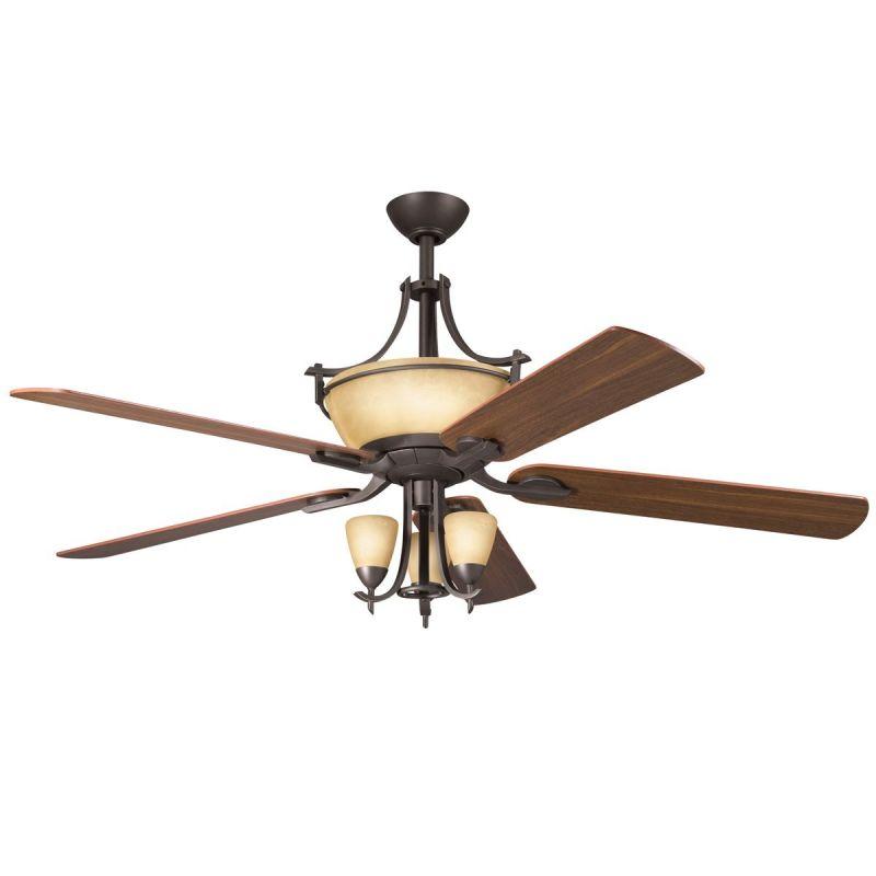 Kichler 380001 Olympia 3 Light Pendalette Fan Light Kit Olde Bronze