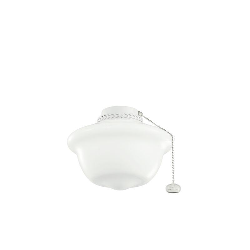 Kichler 380065 One Light Ceiling Fan Light Kit White Fan Accessories