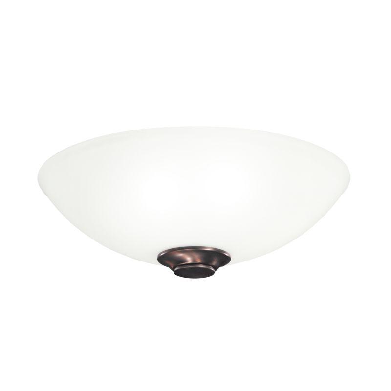Kichler 380108 Palla 3 Light Ceiling Light Kit Oil Brushed Bronze Fan