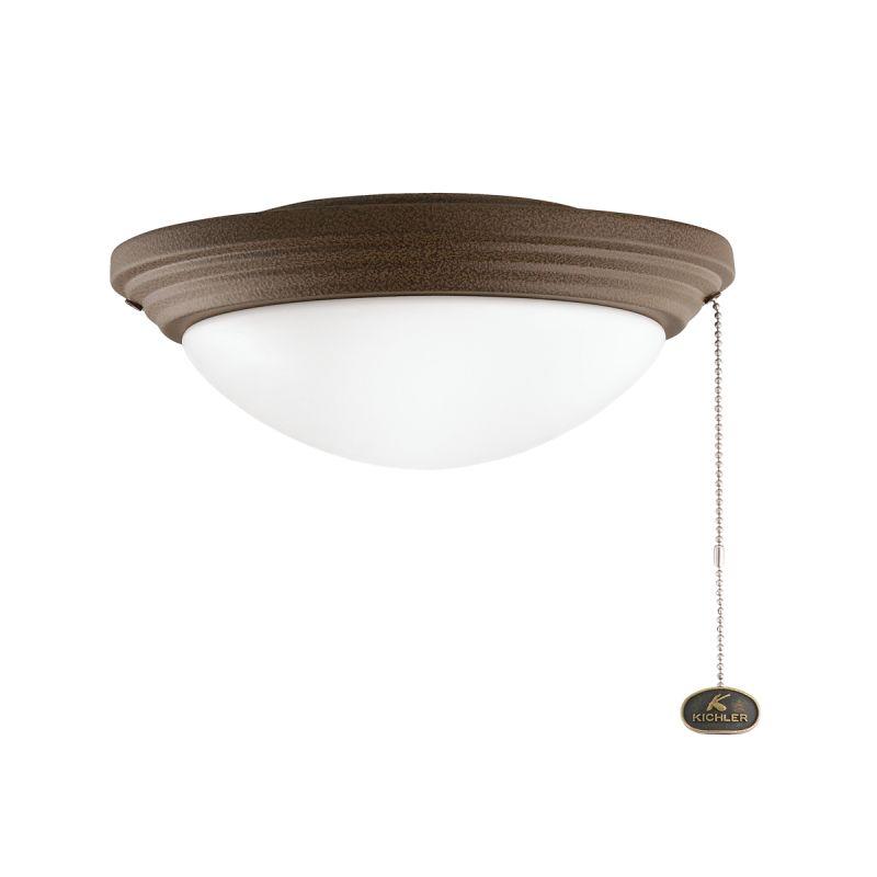 Kichler 380902 Accessory 2 Light Outdoor Fan Light Kit Tannery Bronze