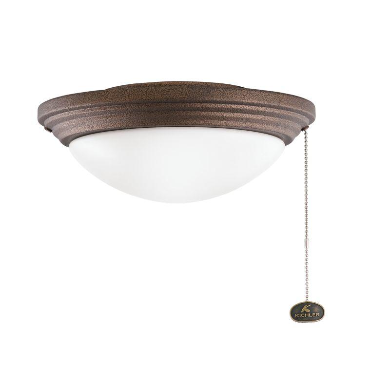 Kichler 380902 Accessory 2 Light Outdoor Fan Light Kit Weathered Sale $84.96 ITEM: bci1222024 ID#:380902WCP UPC: 783927311526 :