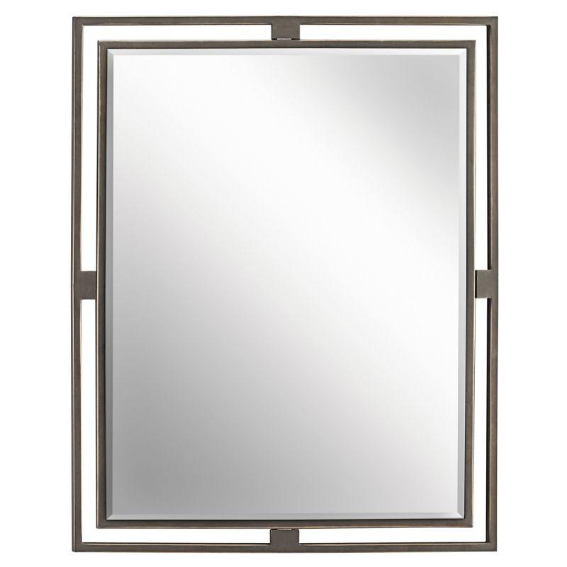 Kichler 41071 Hendrik Rectangle Beveled Framed Mirror Olde Bronze Home Sale $318.00 ITEM: bci1211967 ID#:41071OZ UPC: 783927314558 :