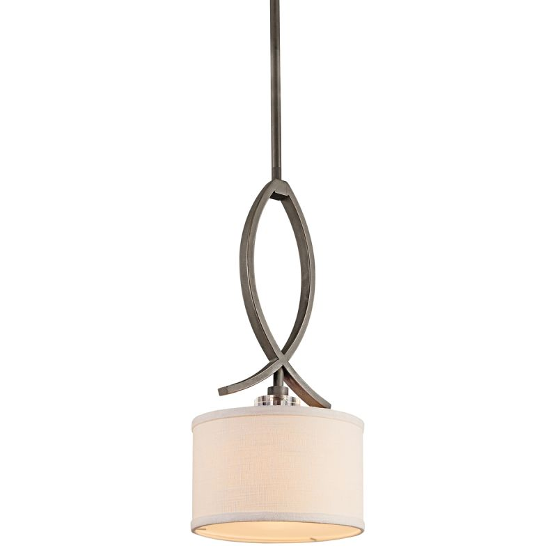 Kichler 42484 Leighton Single-Bulb Indoor Pendant with Drum-Shaped Sale $165.00 ITEM: bci1222134 ID#:42484OZ UPC: 783927307574 :