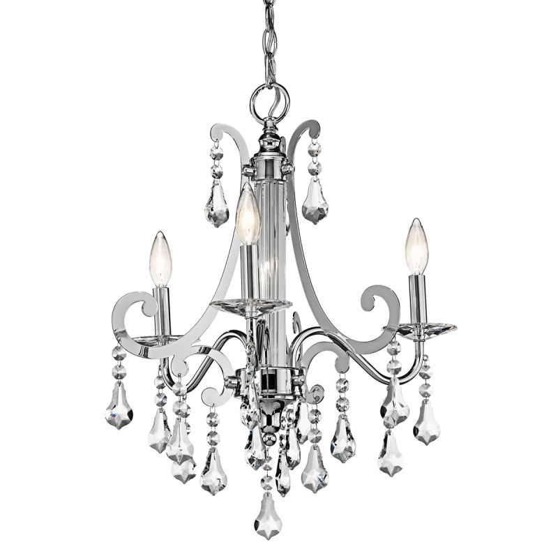 Kichler 42544 Leanora Single-Tier Chandelier with 3 Lights - 72""