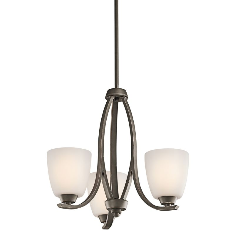 Kichler 42556 Granby Single-Tier Mini Chandelier with 3 Lights - Stem Sale $248.00 ITEM: bci1678871 ID#:42556OZ UPC: 783927324854 :