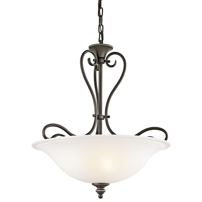 Kichler 42903 Tanglewood 3-Bulb Indoor Pendant with Bowl-Shaped Glass Sale $160.00 ITEM: bci1872038 ID#:42903OZ UPC: 783927369305 :