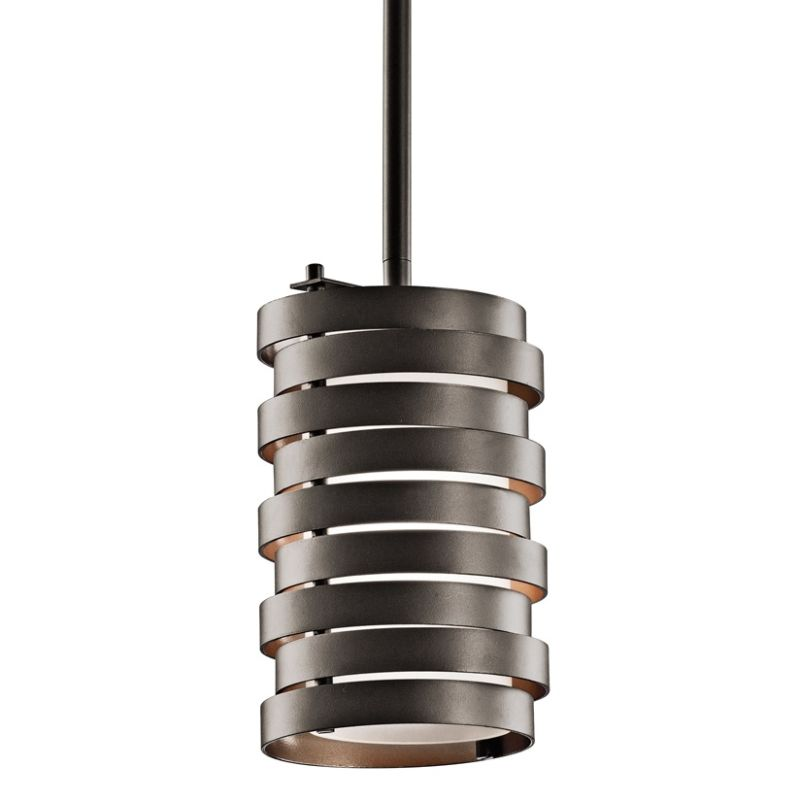 Kichler 43304 Roswell Single-Bulb Indoor Pendant with Cylindrical