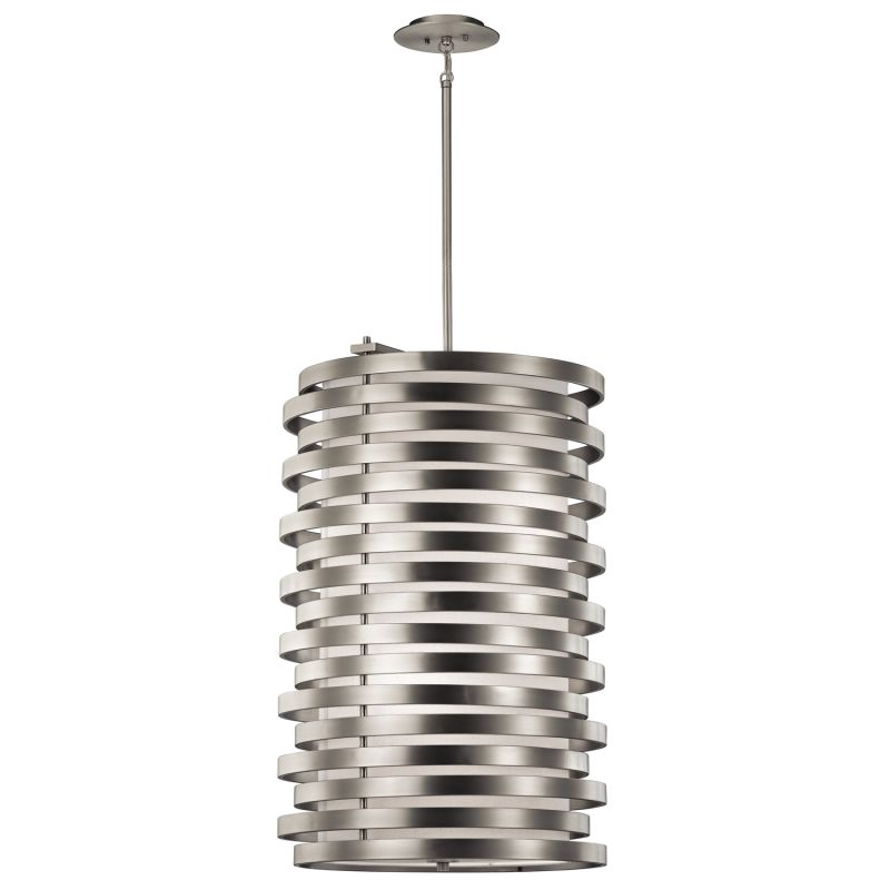 Kichler 43306 Roswell 6-Bulb Indoor Pendant with Cylindrical Metal