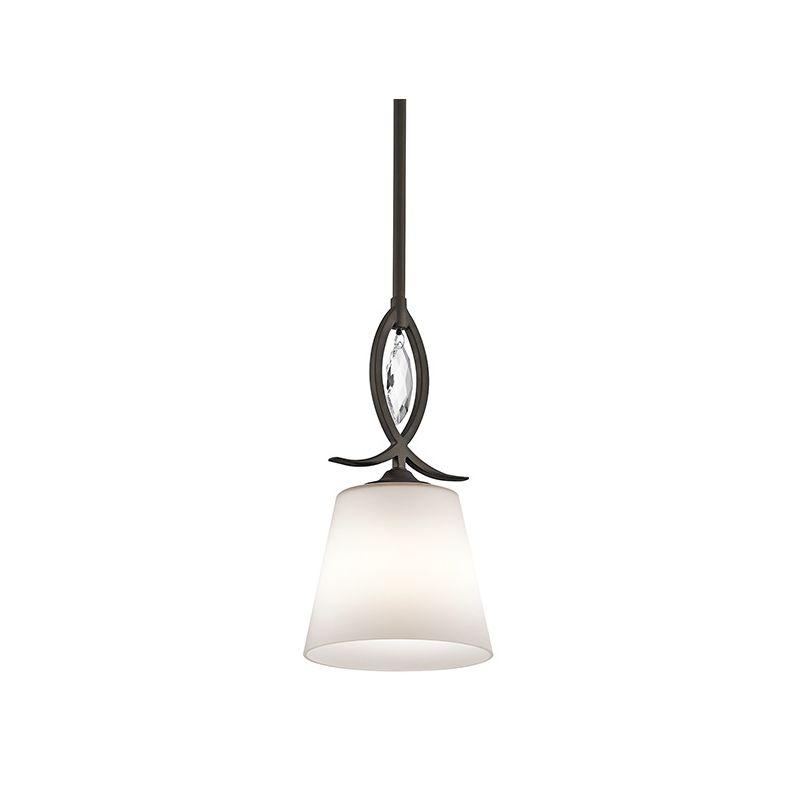 Kichler 43568 Casilda 1 Light Mini Pendant Olde Bronze Indoor Lighting Sale $159.50 ITEM: bci2608444 ID#:43568OZ UPC: 783927442589 :