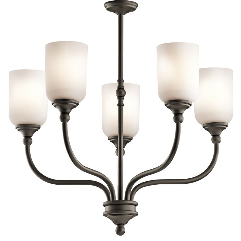 "Kichler 43651 Lilah Chandelier with 5 Lights - 25"" Wide Olde Bronze"