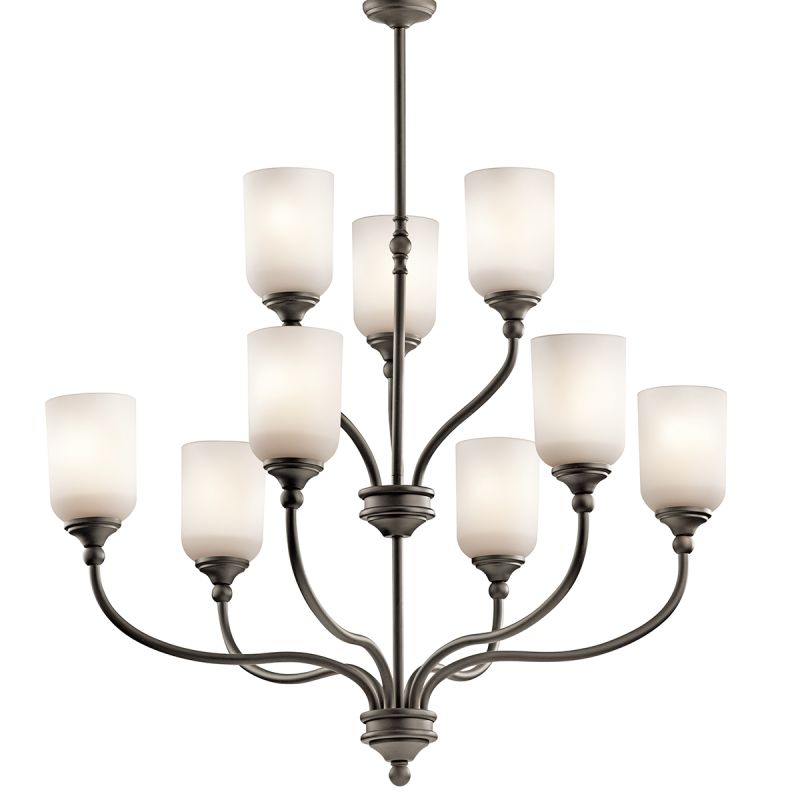"Kichler 43652 Lilah Chandelier with 9 Lights - 37"" Wide Olde Bronze"