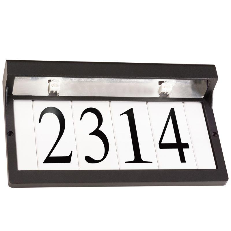 """Kichler 43800 12.25"""" Wide Xenon ADA Compliant Address Light Textured"""