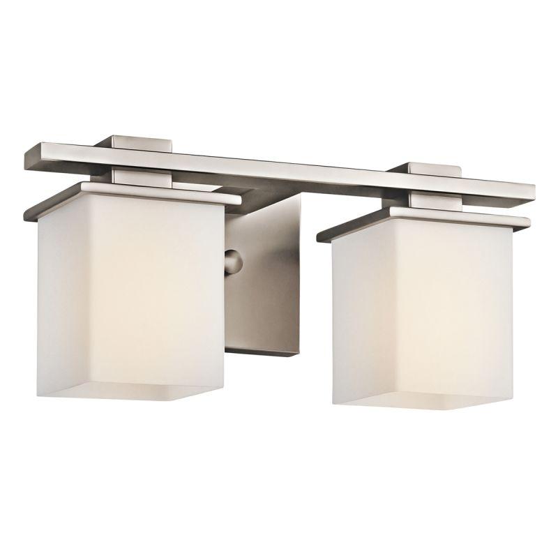 """Kichler 45150 Tully 2 Light 15"""" Wide Vanity Light Bathroom Fixture"""