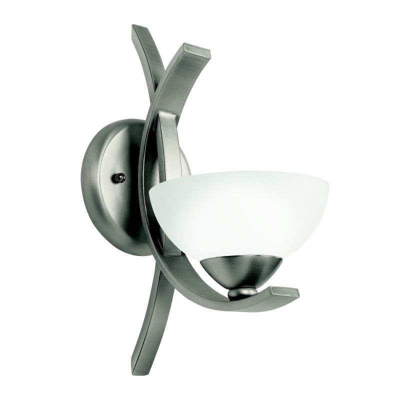 Kichler 45161 Contemporary Single Light Wall Sconce from the Bellamy Sale $123.20 ITEM: bci861185 ID#:45161AP UPC: 783927286176 :