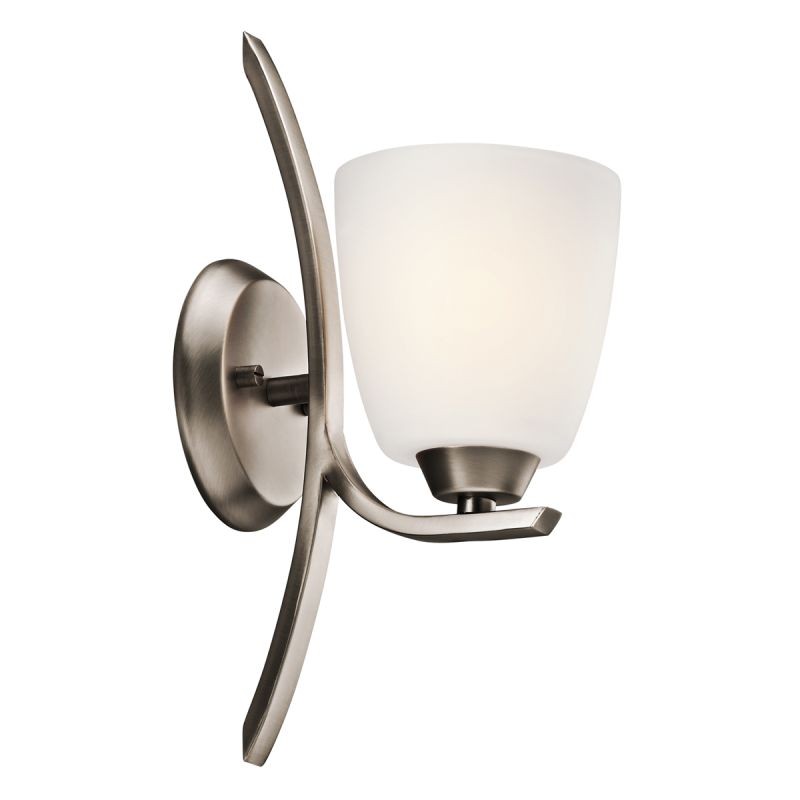 "Kichler 45358 Granby 5.25"" Wide Single-Bulb Bathroom Lighting Fixture"
