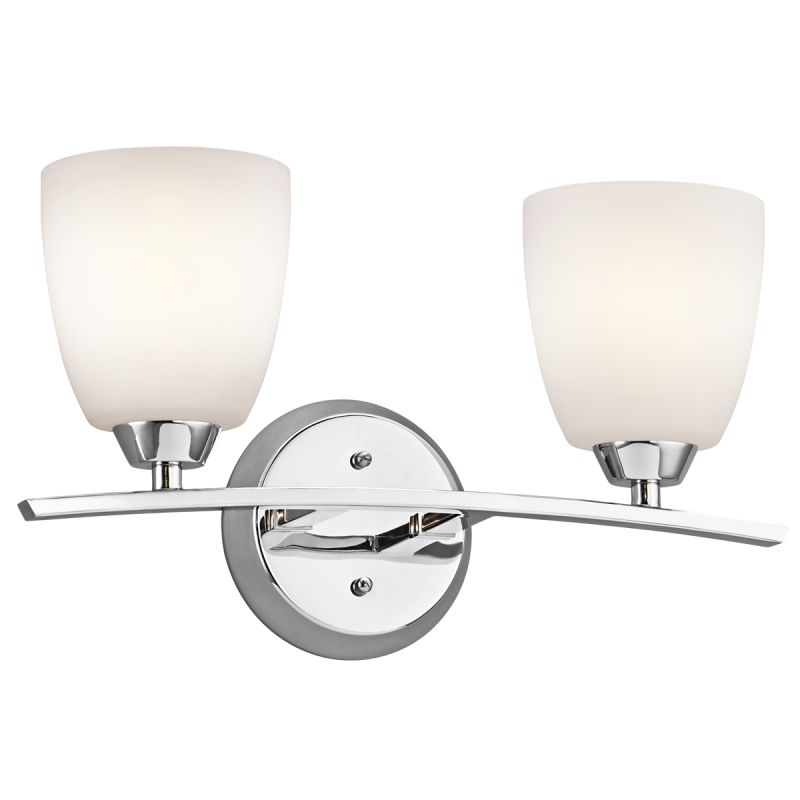 "Kichler 45359 Granby 17.05"" Wide 2-Bulb Bathroom Lighting Fixture"