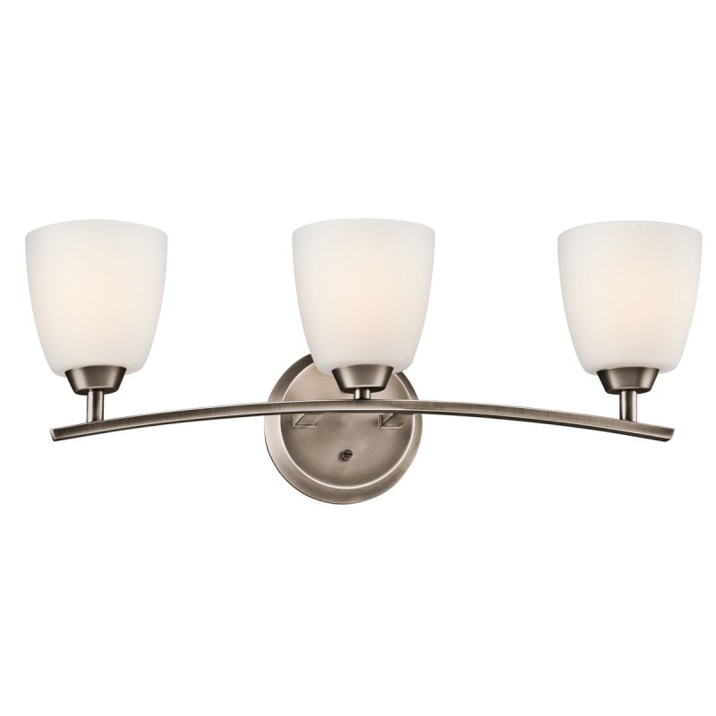 "Kichler 45360 Granby 24.91"" Wide 3-Bulb Bathroom Lighting Fixture"