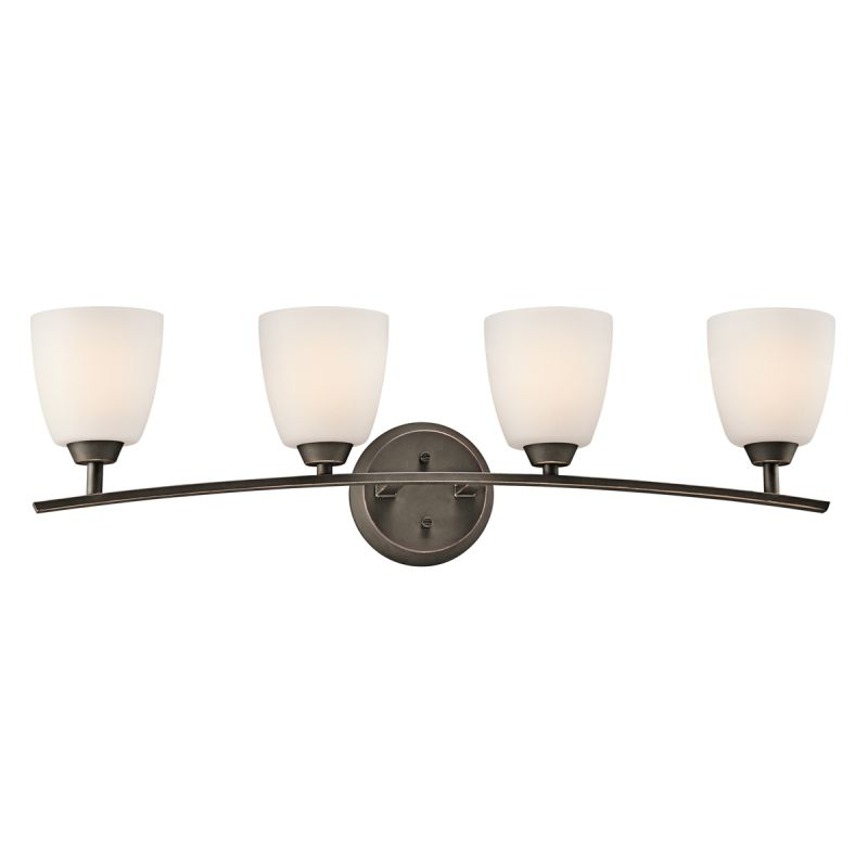 "Kichler 45361 Granby 32.71"" Wide 4-Bulb Bathroom Lighting Fixture Olde"