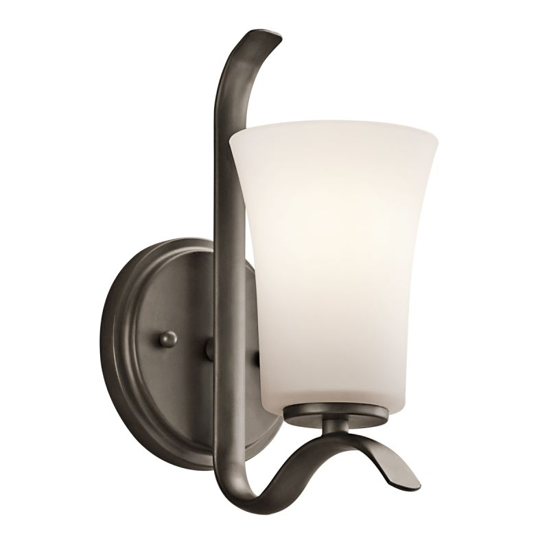 Kichler 45374 1 Light Wall Sconce from the Armida Collection Olde