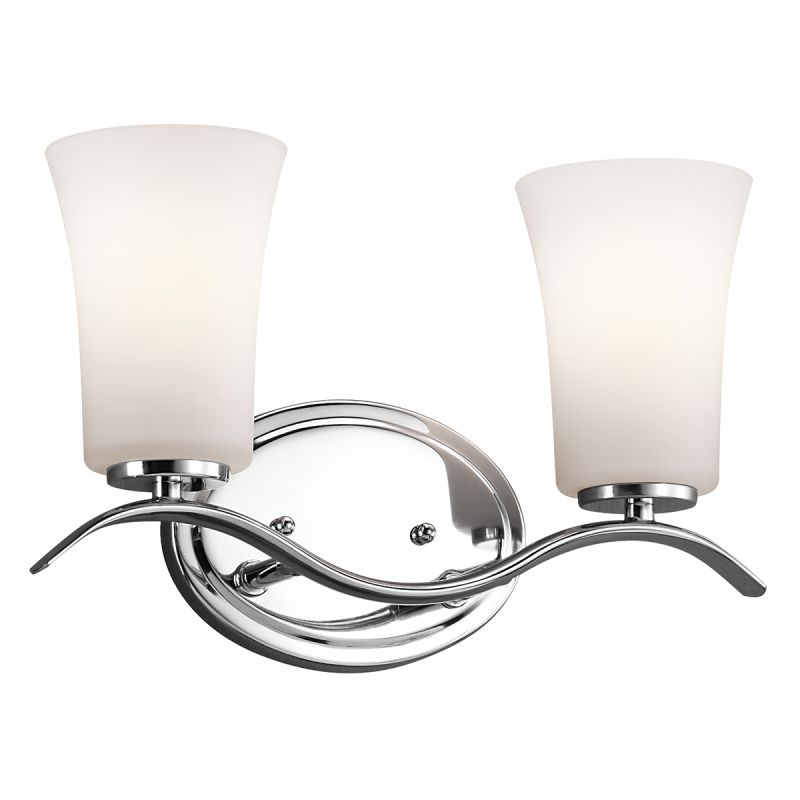 "Kichler 45375L16 Armida 14"" Wide Energy Star Certified LED 2-Bulb"